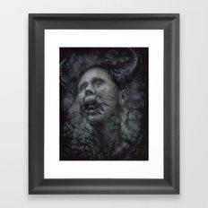 The Black Garden Framed Art Print