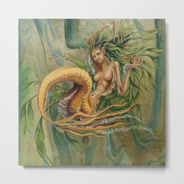 Yellow Tail Metal Print