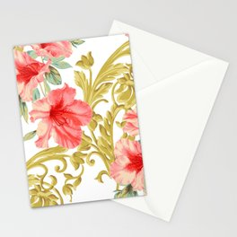 Scroll Azelea Stationery Cards