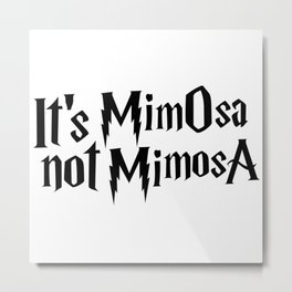 Magic cute Mimosa Metal Print