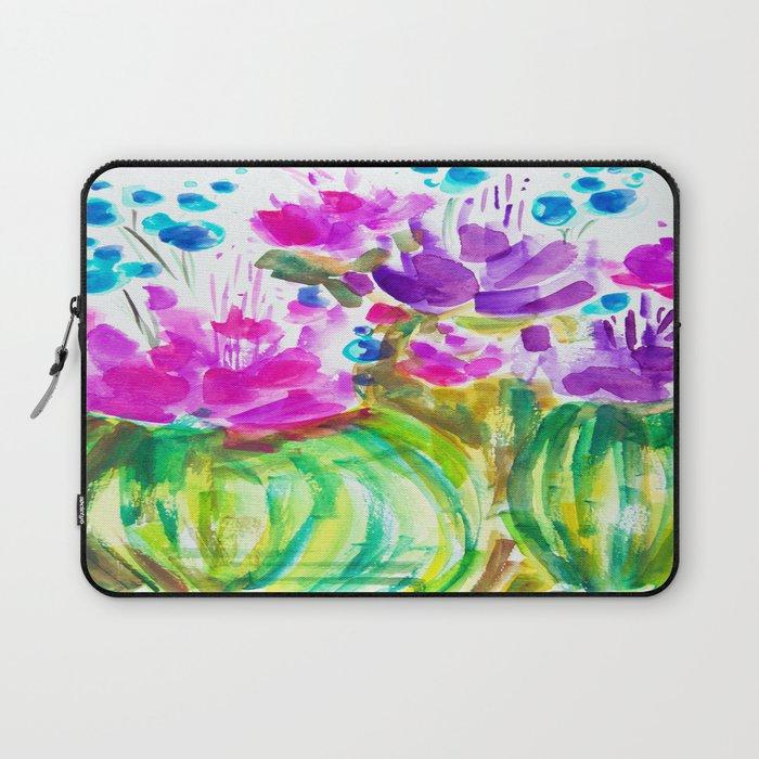 Flowerista Cactus Laptop Sleeve
