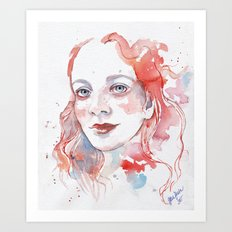 Selfportrait 2015 Art Print