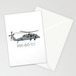 HH-60 Pave Hawk Military Helicopter Stationery Cards
