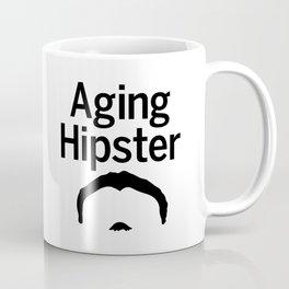 Aging Hipster Coffee Mug