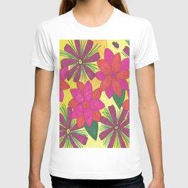 Bohemian Floral Garden Print T-shirt
