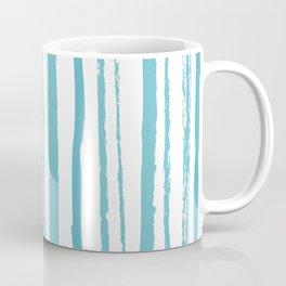 blue streaky pattern Coffee Mug