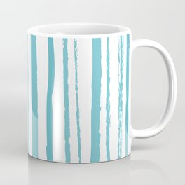 blue streaky pattern Coffee Mug