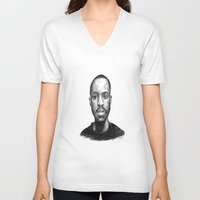 jay fleck V-neck T-shirts featuring Jay-Jay by Jay Golding