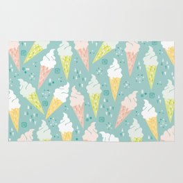 Ice Cream Cones Rug