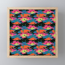 Psychedelic Space Framed Mini Art Print