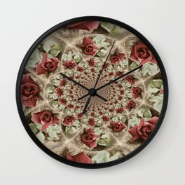 Soft Beauty Wall Clock
