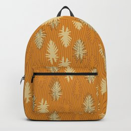 Falling Leaves and Stripes Backpack
