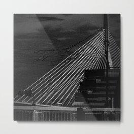 Bunker Hill Bridge Metal Print