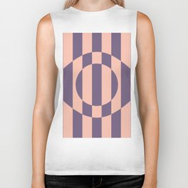 Eye Illusion Biker Tank