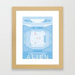 Airlock - Alien (1979) Framed Art Print