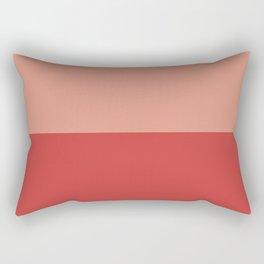 Half Lava/Lava Rectangular Pillow