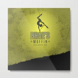 Brae's Muffin Metal Print