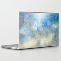 angel wings Laptop & iPad Skins featuring Angel Wings and Heaven by Sherri of Palm Springs   Art and Design