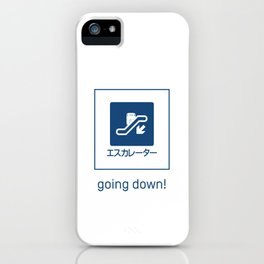 Going Down! iPhone Case