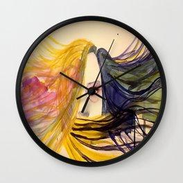 Dream Goddess Wall Clock