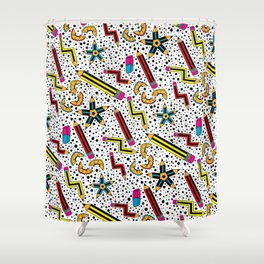 Pencils Print  Shower Curtain
