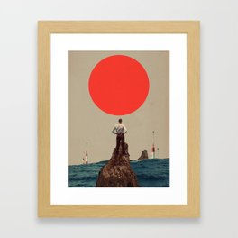 Because You told me to Believe Framed Art Print
