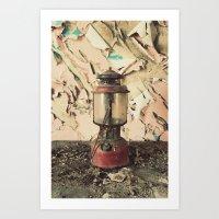 lantern Art Prints featuring Lantern by Shaun Lowe