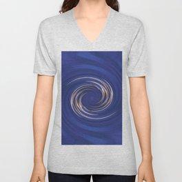 Swirls of Color Unisex V-Neck