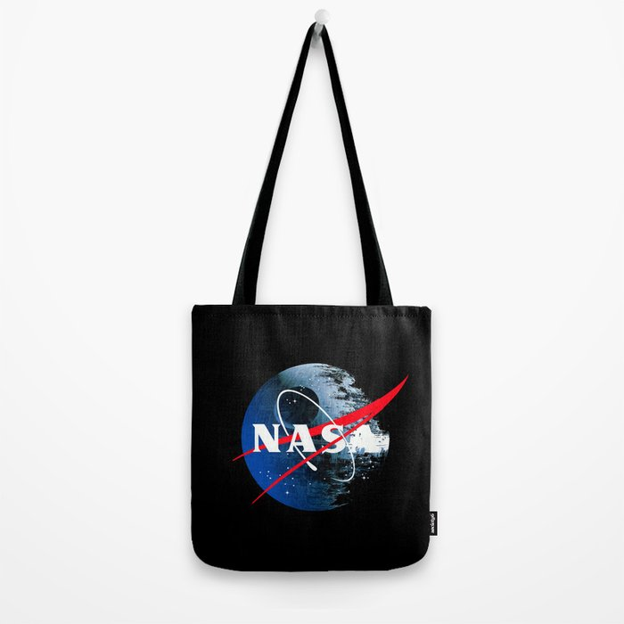 The Second NASA Death Star Tote Bag