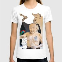 picasso T-shirts featuring Picasso by Matthew Lake