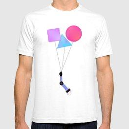 Surreal Sci-fi floating robotic arm T-shirt