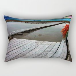 Beyond The Clowns Rectangular Pillow