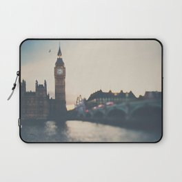 sunset over the city ... Laptop Sleeve