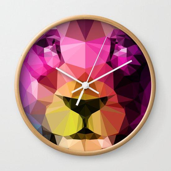 Wild Neon 01a. Wall Clock