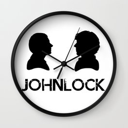 JohnLock Silhouette Wall Clock