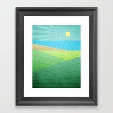 I Can See The Beach Framed Art Print