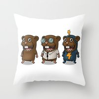 hero Throw Pillows featuring Hero by Torakiki