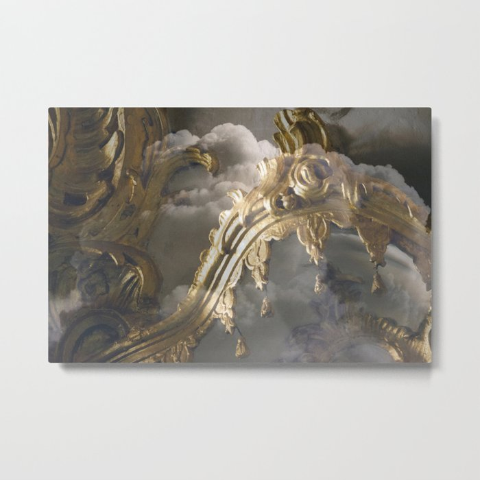Ceiling in cloudes Metal Print