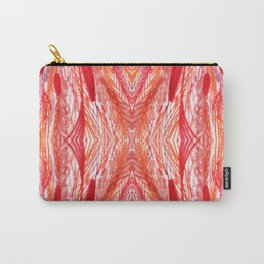 Vintage Rose Woven Abstract Carry-All Pouch