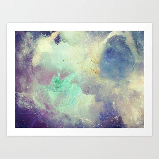 Up to Eternity Art Print