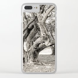 Arboreal Animal Clear iPhone Case