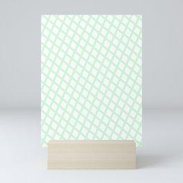Lattice | Mint Mini Art Print