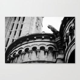 Gargoyle at Montmartre Canvas Print