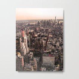 New York City USA Photography ArtWork Metal Print