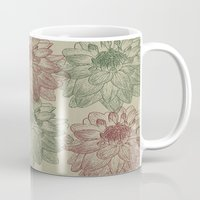 peonies Mugs featuring Peonies by Zen and Chic