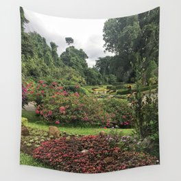 Stormy Garden Wall Tapestry