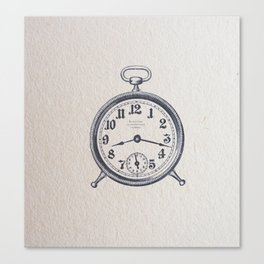 8:17 Canvas Print
