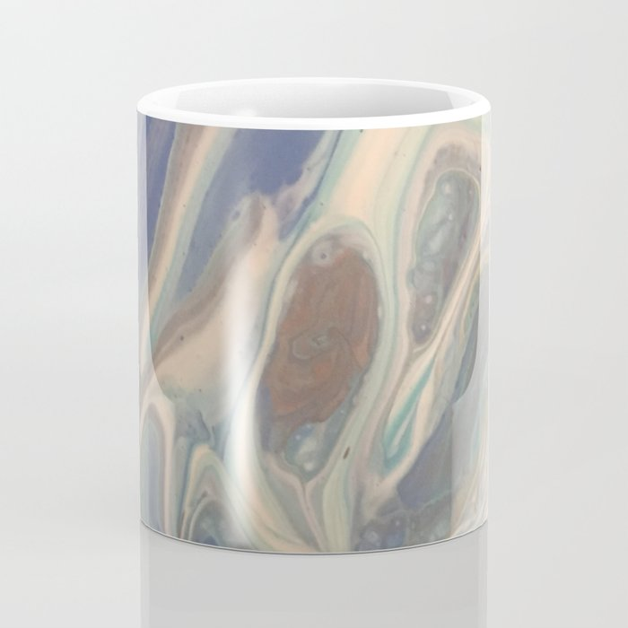 Blue Swish 1 Coffee Mug
