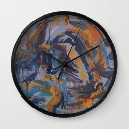 Heavy First Date Wall Clock