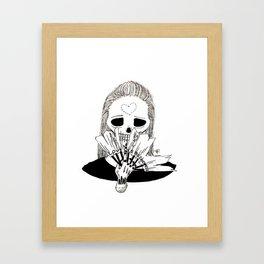 Love is Blindness. Framed Art Print